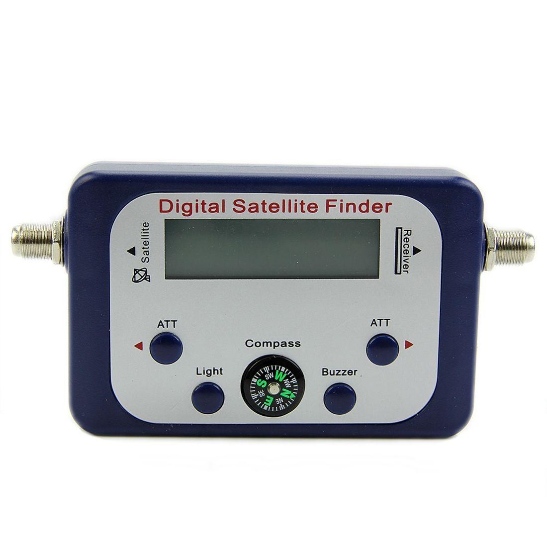 Цифровой ЖК-дисплей спутниковый искатель сидел искатель измеритель силы сигнала Sky блюдо freesat синий