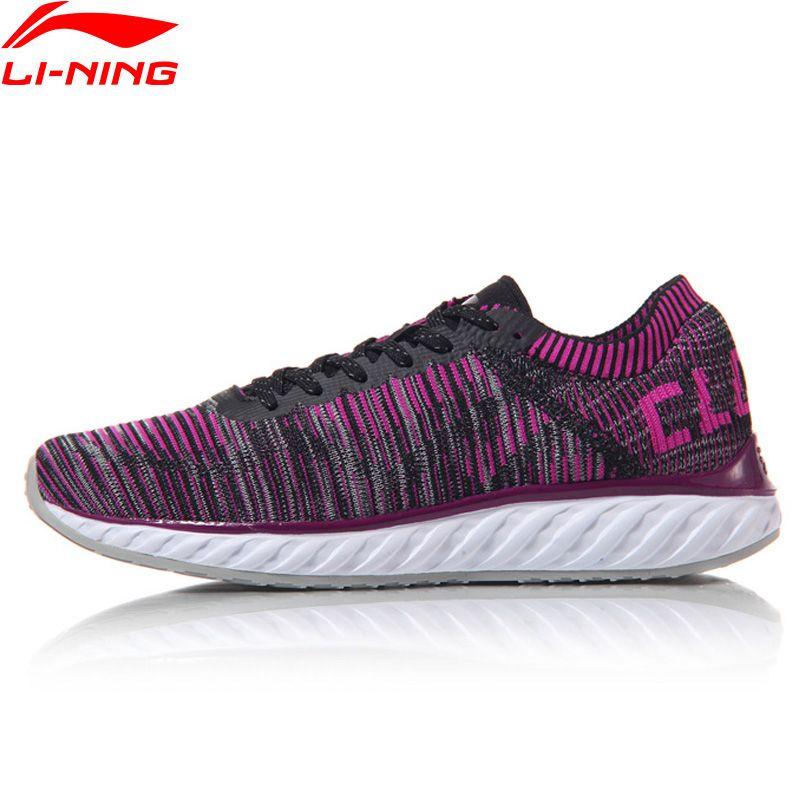 Li Ning Frauen LN Wolke IV Laufschuhe Atmungsaktives Innenfutter Turnschuhe MONO GARN Sportschuhe ARHM034 XYP542