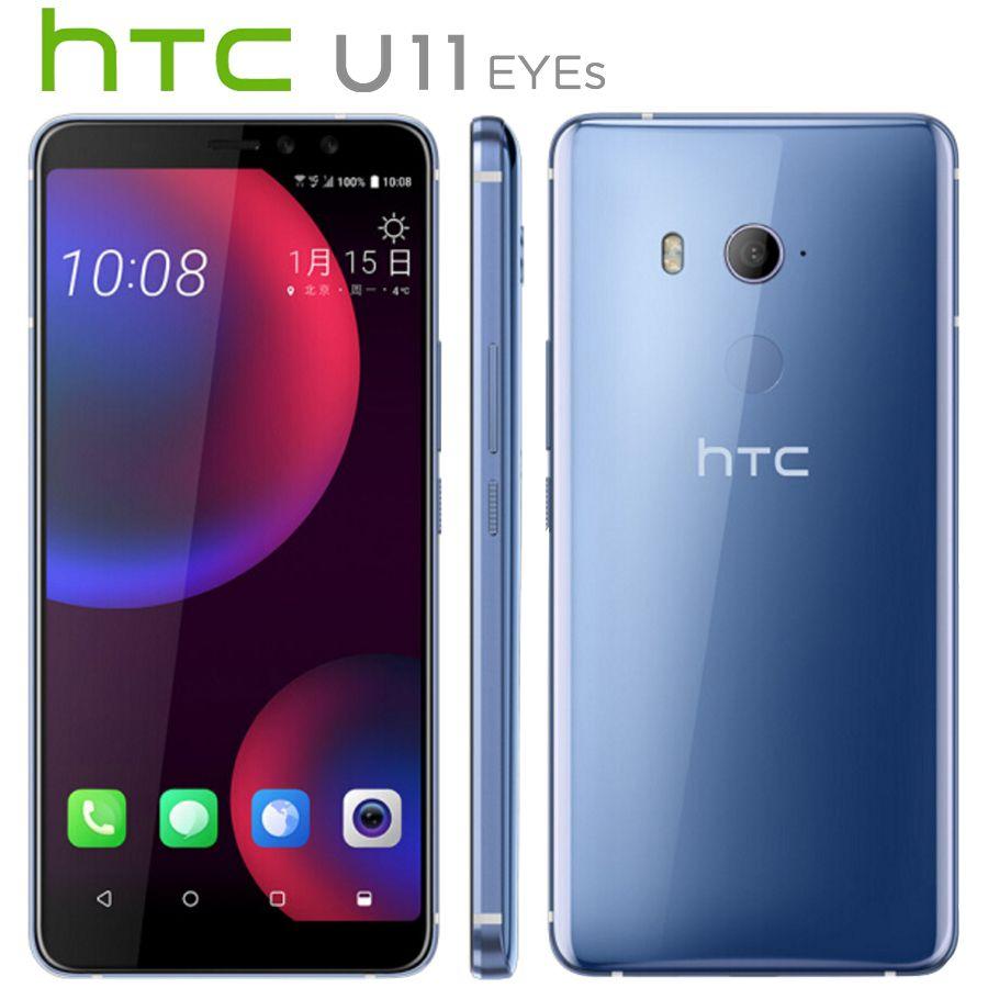 HK Version HTC U11 Augen LTE Handy 12MP 4GB RAM 64GB ROM Snapdragon652 Octa Core 6,0