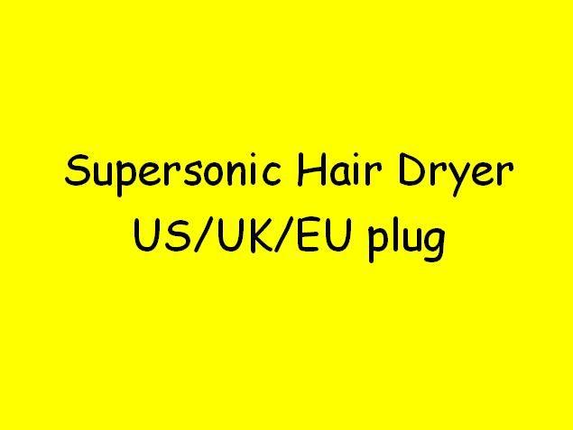5color Brand Supersonic Hair Dryer Professional Salon Tools 1pcs Drop ship (no mask) US/EU/UK/AU top quality