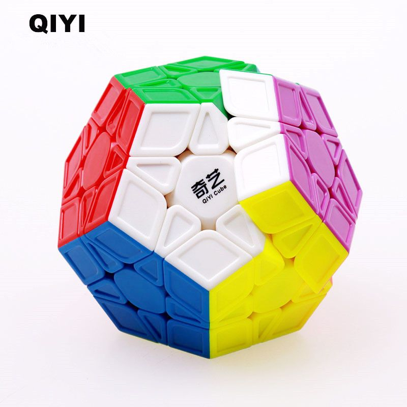 QIYI Megaminxeds Cube XMD 12 Sides Professional Speed Magic Cubes Stickerless Puzzle Cubo Magico Educational Toys For Children