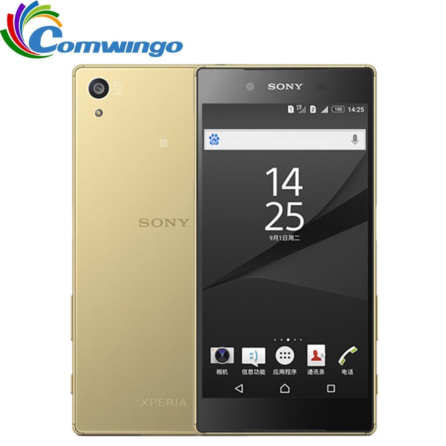 Original <font><b>Sony</b></font> Xperia Z5 E6653 Unlocked RAM 3GB ROM 32GB GSM WCDMA 4G LTE Android Octa Core 5.2 Inch 23.0MP Camera