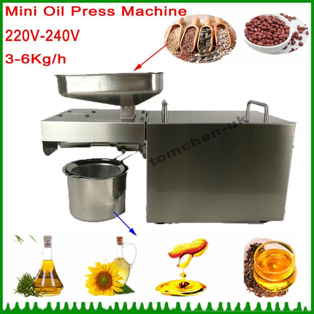 Automatic Nut Seeds sunflower oil press machine Cold Hot Press Machine Oil home oil press machine Tool