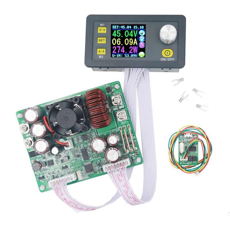 DPS5020 50V 20A constant voltage current converter LCD voltmeter Step-down communication digital Power Supply 22%off