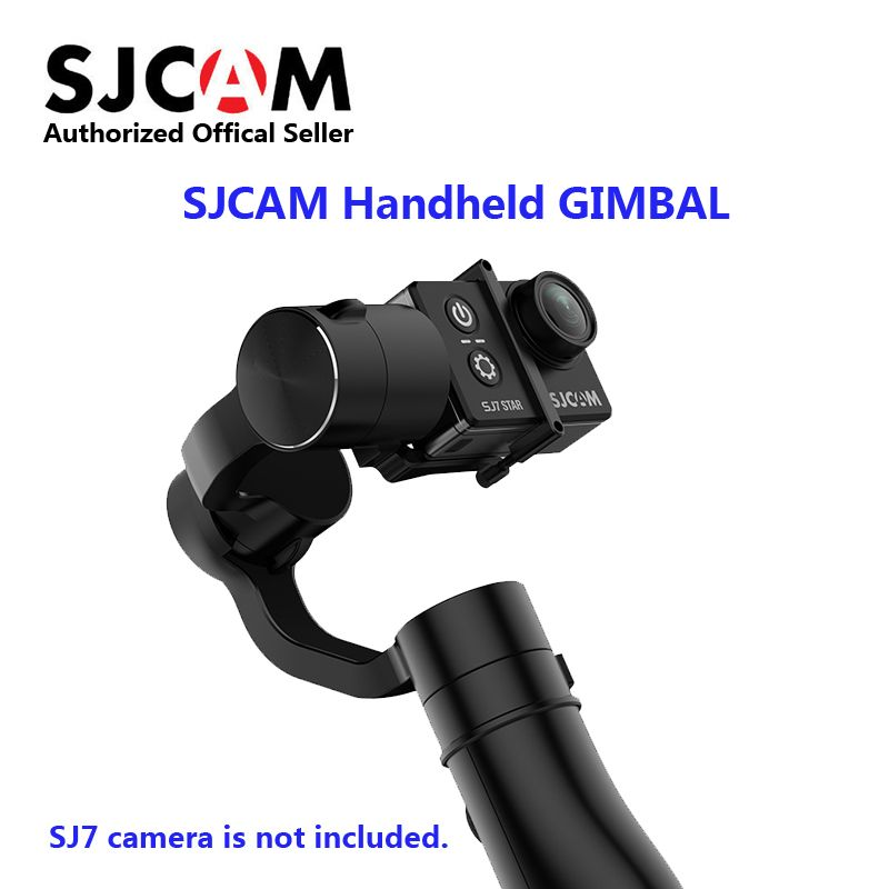 Original SJCAM Handheld Gimbal 3-Axis Handheld Stabilizer for SJ6 Legend SJ7 Star Action Camera