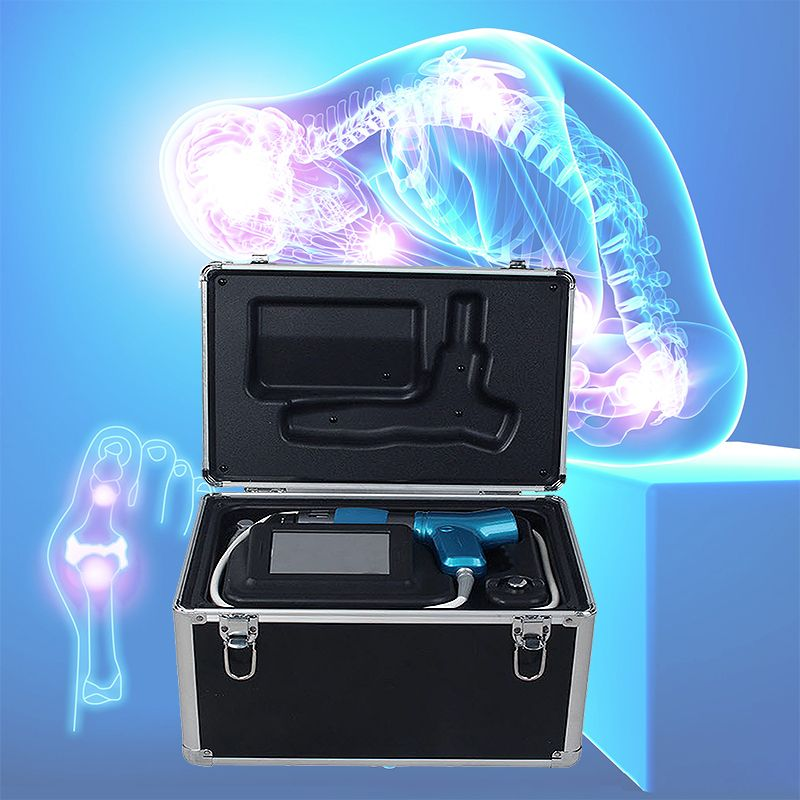 New Effective Physical Pain Therapy System Shock Wave Machine For Pain Relief Shipping by DHL