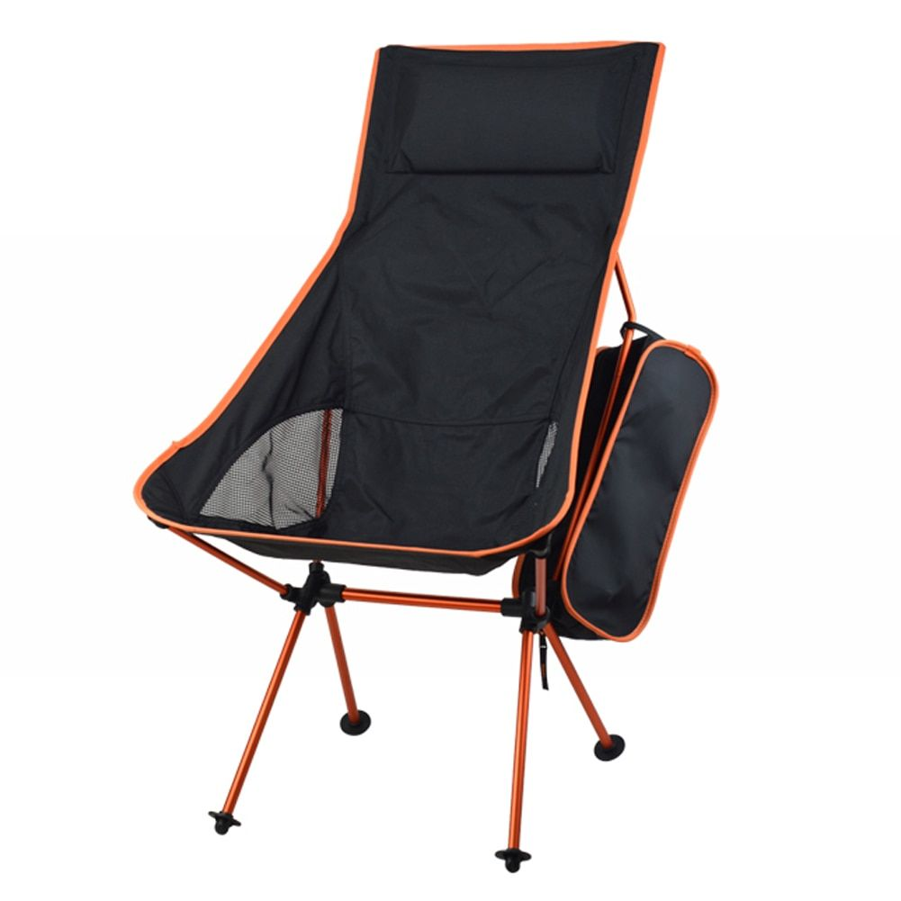 2018 Portable Folding Chair Camping Chair Fishing Seat 600D Oxford Cloth Lightweight Seat for Outdoor Picnic BBQ Beach With Bag