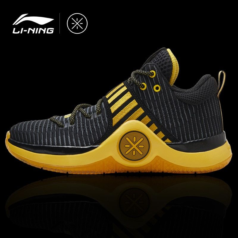 Li-Ning Men WOW 6 'CAUTION' Wade Basketball Shoes Wearable Sneakers Comfort LiNing Fitness Sports Shoes ABAM089 XYL164