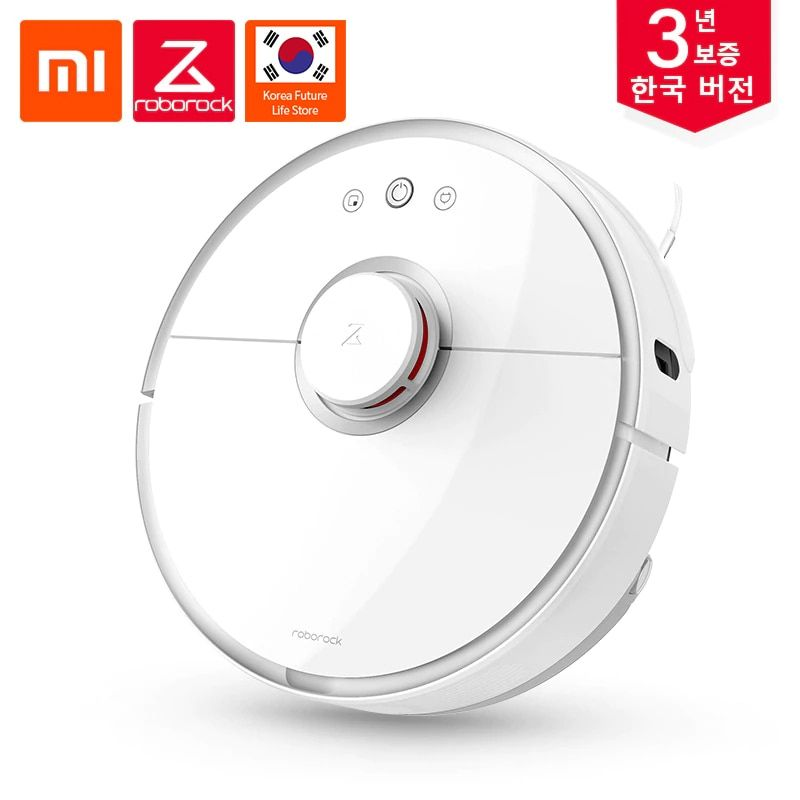 Korean Version Xiaomi Roborock  S50 Cleaner Vacuum 2 for home Automatic Wet Wipe Cleaning Smart Planned Area Remote Control
