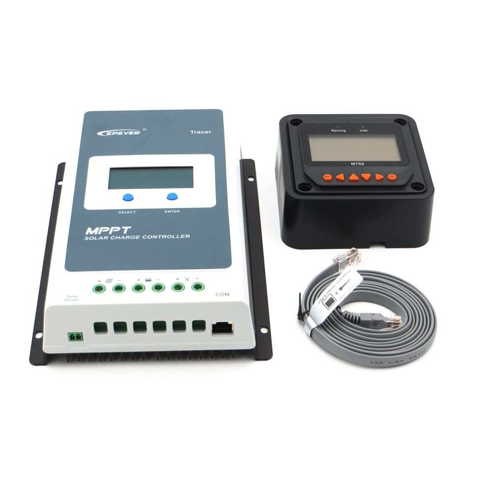 Tracer 3210AN Epsloar EPEVER 30A MPPT Solar Charge Controller with MT50 Meter 3210A Tracer3210AN
