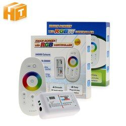 RGBW/RGB светодиодный сенсорный экран 2,4G DC12-24V 18A пульт дистанционного управления канал для RGB/RGBW полосы