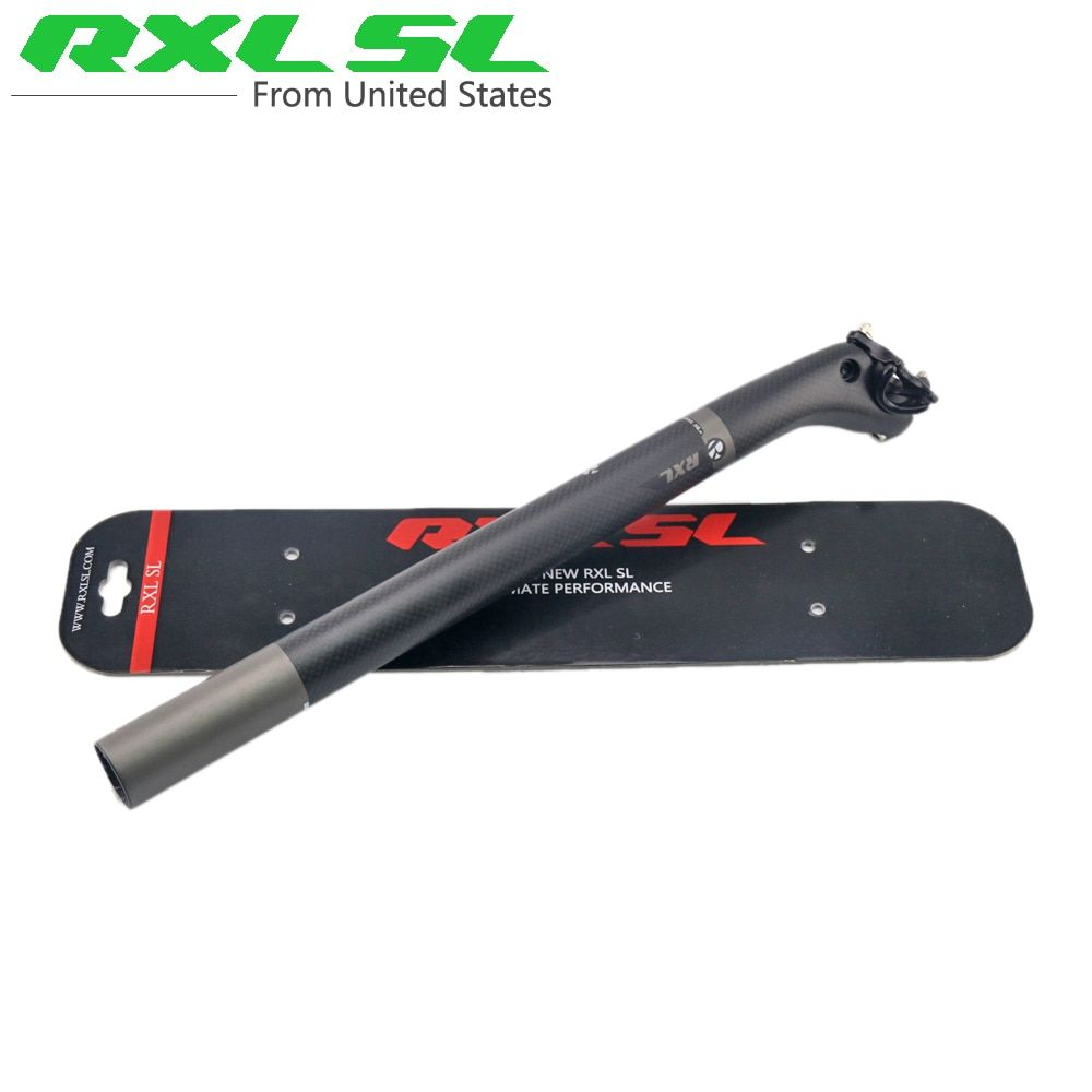 RXL SL Carbon Seatpost Offset 25mm Road Bicycle Seat Posts 3K/UD Matte 27.2/30.8/31.6mm Seatpost Carbon Mtb Seat Post