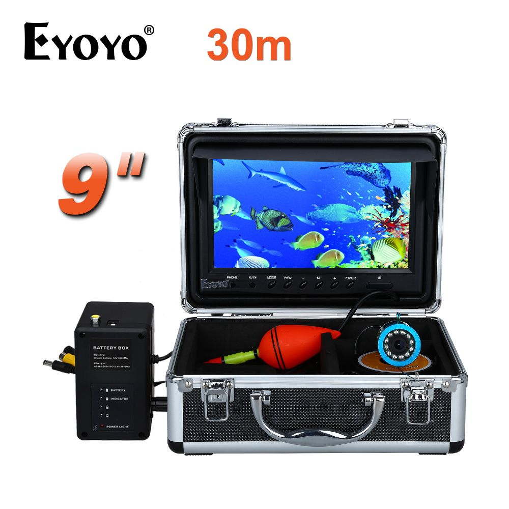 EYOYO 30M 1000TVL HD Underwater Fishing Camera Fish Finder 9