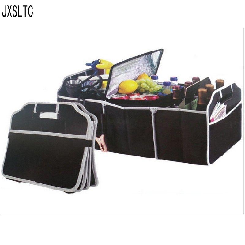 Mode voyage Camping en plein air boîte de rangement des aliments Oxford tissu imperméable grande capacité multi-fonction sac de rangement de voiture 50*32.5