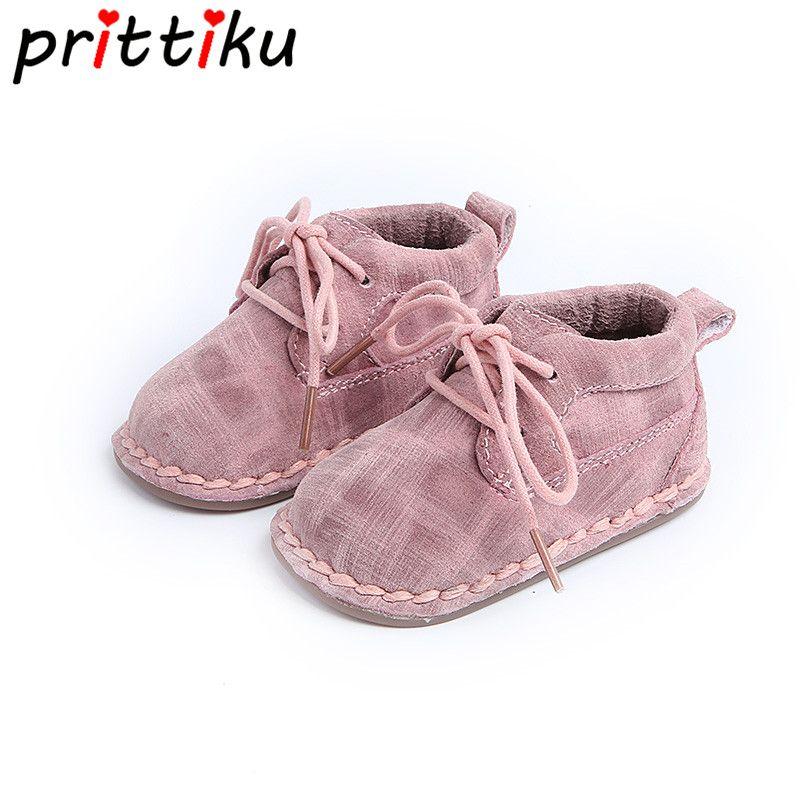 Для маленьких мальчиков девочек Обувь для новорожденных мальчиков и девочек пинетки кашемировые теплые высокие Пояса из натуральной кожи ...