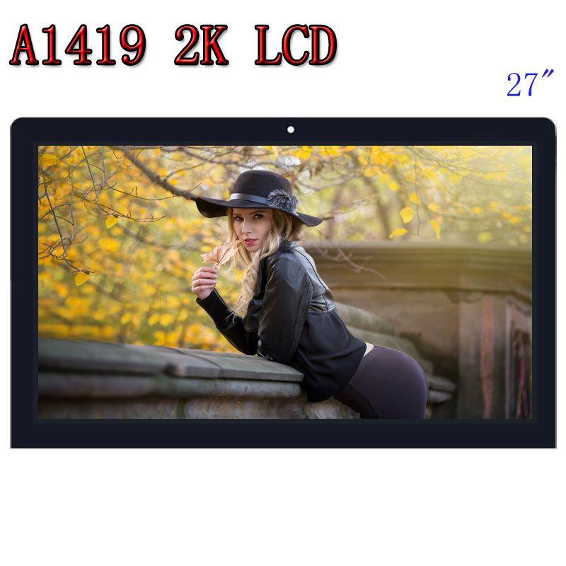 HEIßER VERKAUF Orignal A1419 2 K LCD Screen mit glas montage LM270WQ1 SD F1 F2 Für iMac 27