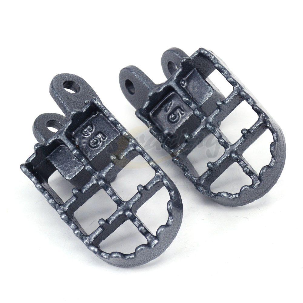 Motorcycle Steel MX Wide Foot Pegs Rests Pedals For HONDA CR80 XR250 XR400 XR350R XR600R XR650L XR650R Dirt Bike