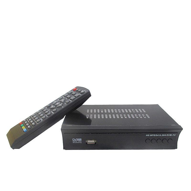 Récepteur terrestre de diffusion vidéo numérique HD DVB-T2 DVB-T Compatible avec décodeur MPEG-2/MPEG-4 H.264 DVBM2