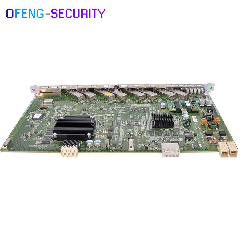ZTE GTGO OLT Board 8 ports GPON board GTGO with 8 C++ SFP Modules OLT board for C300 C320 OLT