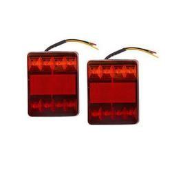 Durable Paire de LED Tronc Remplacement De Lumière De Queue Led Remorque Feu Arrière Véhicule Pièces Camion Accessoires