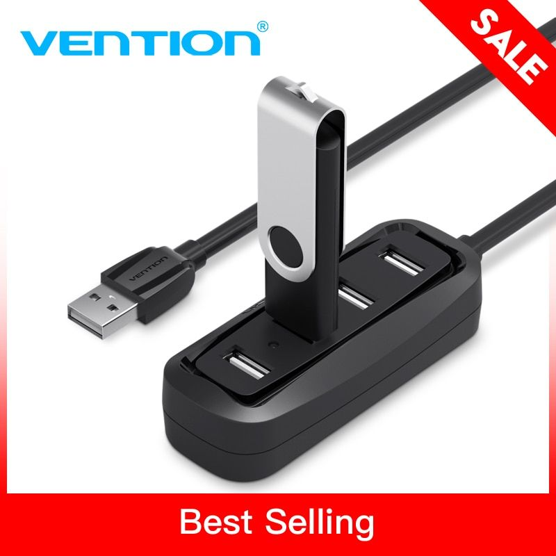 Конвенция высокое Скорость 4 Порты USB 2,0 хаб USB Порты и разъёмы USB Hub Портативный OTG HUB USB разветвитель для Apple Macbook air Ноутбук Планшетные ПК