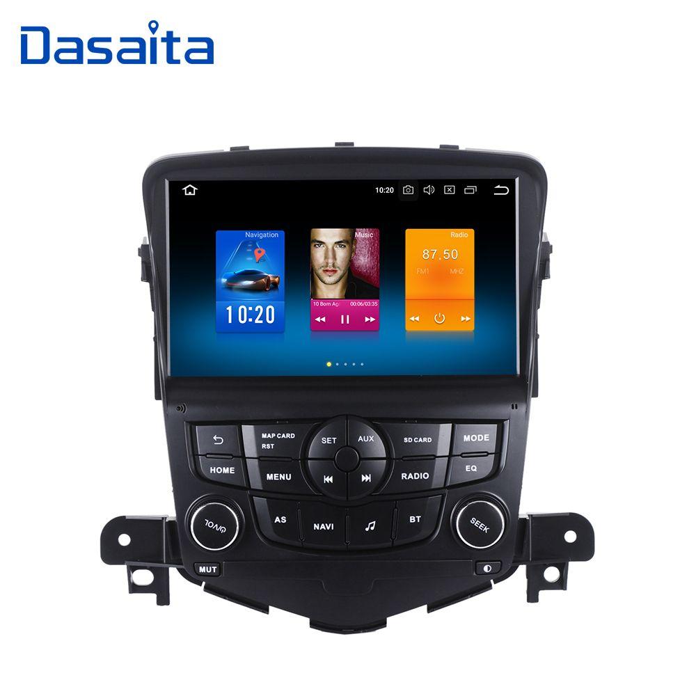 Dasaita 8 Android 8.0 Auto GPS Radio Player für Chevrolet Cruze 2008-2011 mit Octa Core 4 gb + 32 gb Auto Stereo Navi Multimedia
