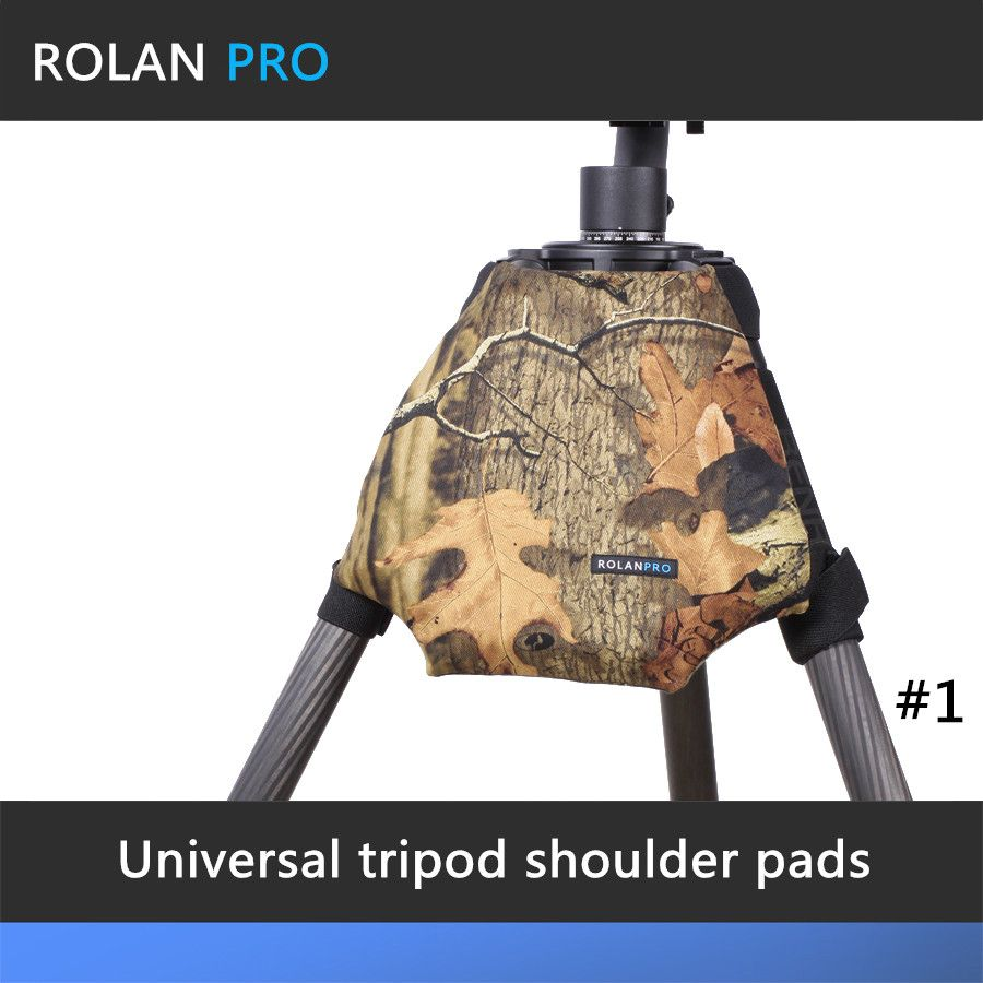 ROLANPRO Camera Camouflage Rain Cover Raincoat for Universal Tripod Shoulder Pads Guns Clothing Gitzo Manfrotto Benro Sirui RRS