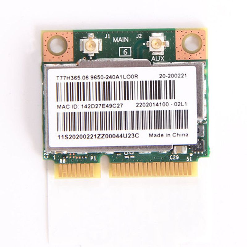 Dual Band Broadcom BCM943228HMB 802.11a/b/g/n 300Mbps Wifi Wireless Card Bluetooth 4.0 Half MINI pci-e Notebook Wlan 2.4Ghz 5Ghz