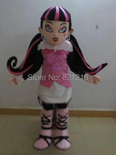vampire draculaura mascot costumes for adults advertising mascot animal costume school mascot fancy dress costumes