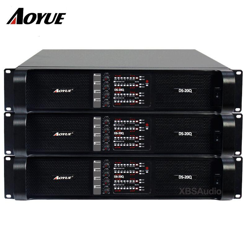 Audio sound standard professionelle klasse TD power verstärker DS-20Q 4 kanäle