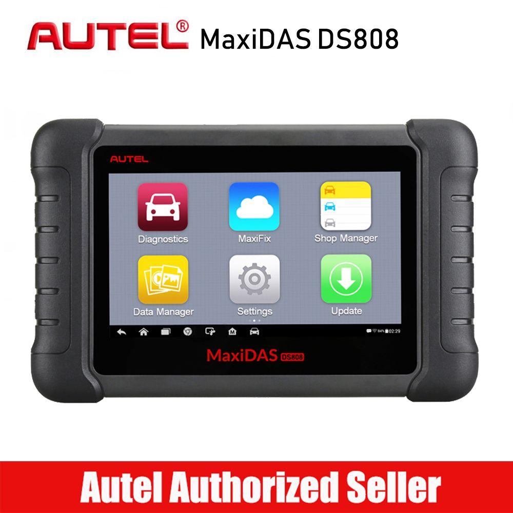 Autel MaxiDAS DS808 Alle System Auto Diagnose Werkzeug Professionelle Auto OBD OBD2 Code Reader Scanner Öl Reset TPMS SAS EPB DPF