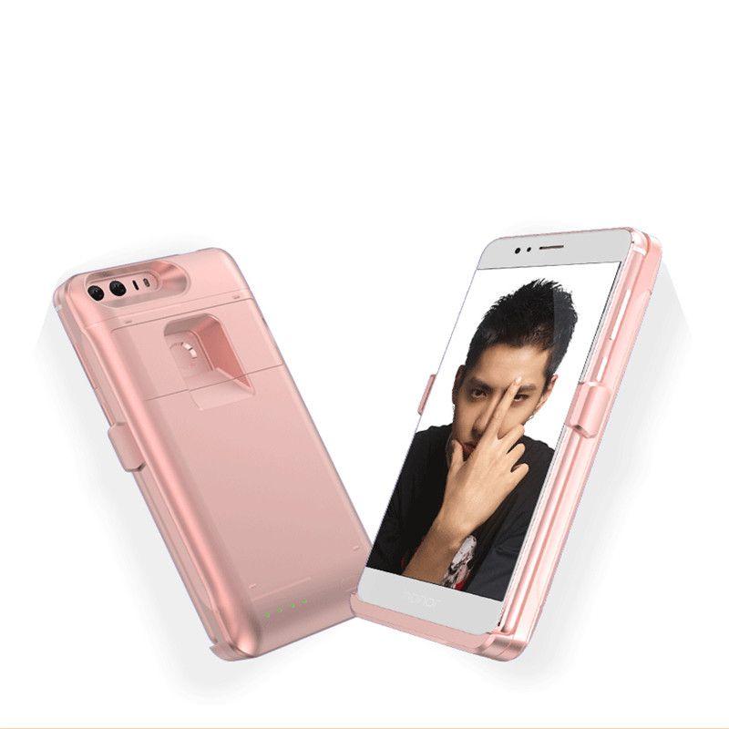 4000 mah Externe Cas de Chargeur de Batterie Pour Huawei Honor 8 Ultra Mince Portable Banque D'alimentation De Secours Externe Titulaire Rechargeable Cas