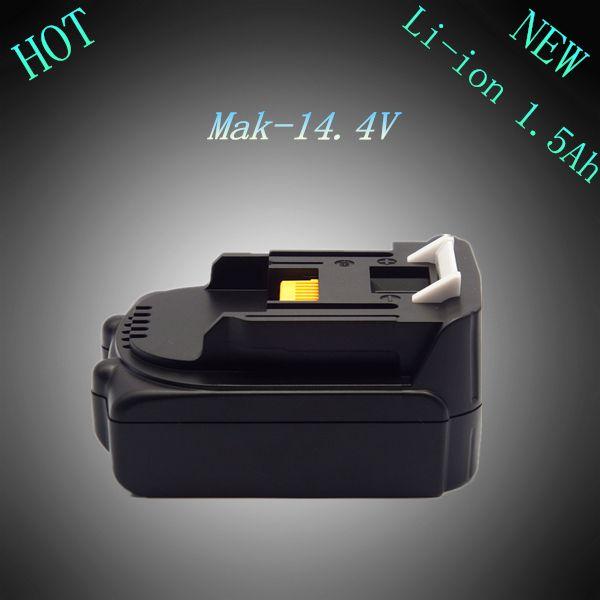 Nouveau 14.4 v Rechargeable Au Lithium Ion 1500 mah Remplacement Power Tool Batterie pour Makita BL1415 LXT200 194065-3 194066 -1 14.4 Volts