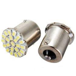10 pcs 1156 BA15S P21W R10W 22 SMD 3014 LED de voiture feux de jour running light Auto Queue Côté Indicateur Lumières Parking Lampe Ampoules 12 V 10X