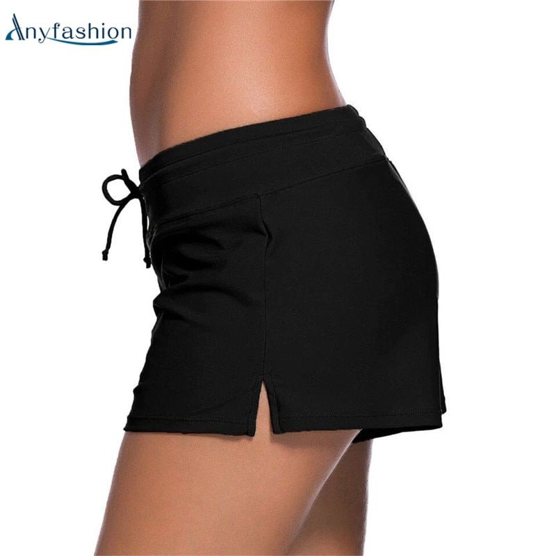 Anyfashion Frauen Boardshort Bikinis Bottom Baden Slips Shorts Sommer Badebekleidung Beachwear Badeanzug Sexy Bikini Bottoms
