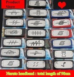 Аниме повязка Naruto лист деревня логотип Konoha Учиха Итачи Какаши Акацуки члены косплей костюм аксессуары Бесплатная доставка