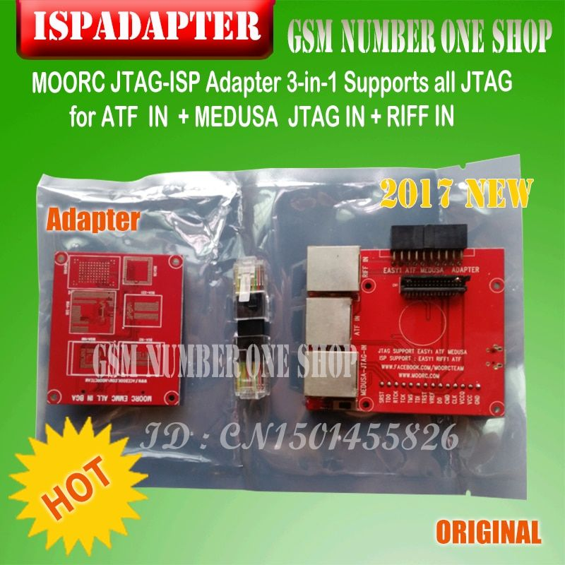 Newest update JTAG ISP Adapter ALL IN 1 For RIFF EASY JTAG Z3X PRO JTAG MEDUSA EMMC E-MATE BOX ATF BOX