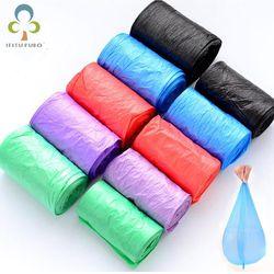Good Qulity Thicken Colored Trash Bags Garbage Bag Storage Plastic Waste Basket Bin Trash Holder Kitchen Bucket Bag GYH