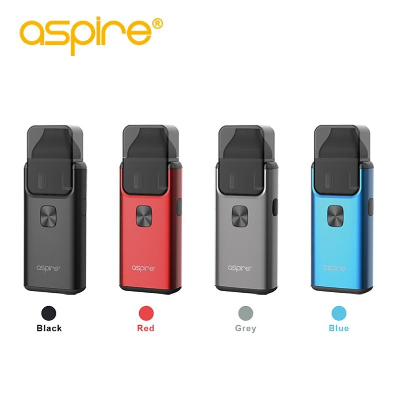 Electronic Cigarette Aspire Breeze 2 AIO Kit 3ML Capacity Replaceable Cartridge Pod System Can Change 0.6ohm 1.0ohm Breeze Coil
