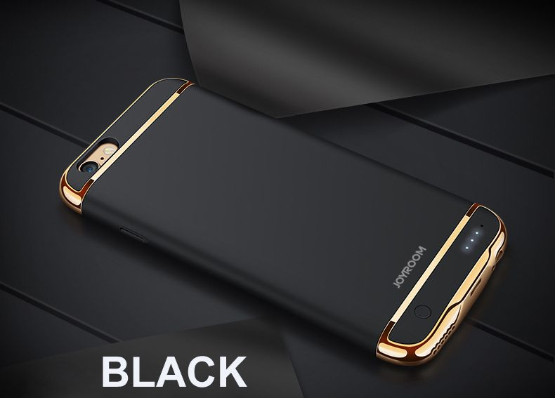 For iPhone 6 6S 7 Plus Rechargeable External Backup Battery Case Power Bank for iPhone 6 6S 7 Phone Batteria Charger Case Cover