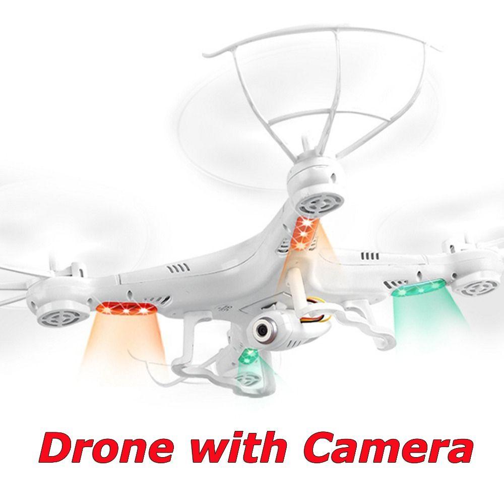Drone avec Caméra HD VENTE CHAUDE X5C-1 RC 2.4G 4CH 6-Axis Quadcopter Vidéo RC Hélicoptère Télécommande Jouets VS x5 x5c f181 FSWB