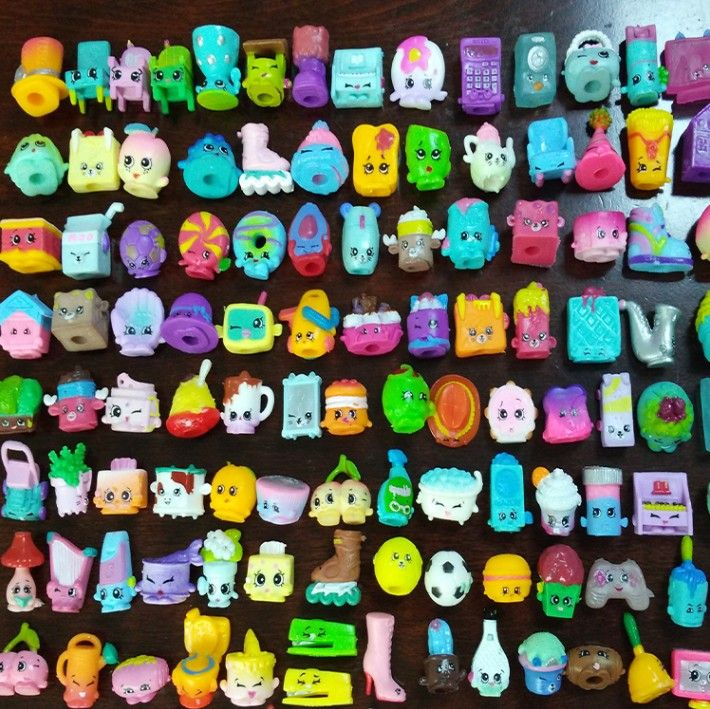 20-200 PCS Many Styles Shop Action Figures for Family Fruit Kins Shopping Dolls Kid's Christmas Gift Playing Toys Mixed Seasons
