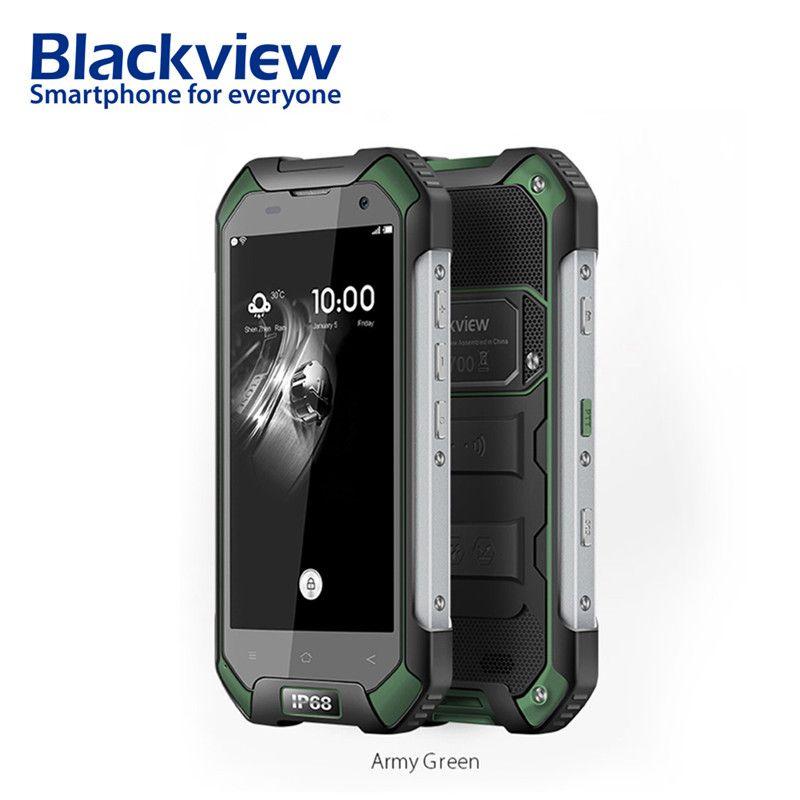 Blackview BV6000s 2 gb 16 gb Handy 4,7 zoll HD 4g Smartphone Android 7.0 Wasserdicht stoßfest telefon MT6735 Quad core 4500mA