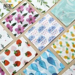 3 pcs/lot Cute Kawaii Flower Sulfuric Acid Paper Envelope For Postcard Kids Gift School Materials Student 823