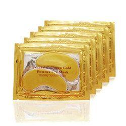20 pcs = 10 packs Or Cristal Collagène Yeux Masque Hotsale Pansements Oculaires Pour Les Yeux Anti-Rides Supprimer Oeil au Beurre noir Soins Du Visage Beauté