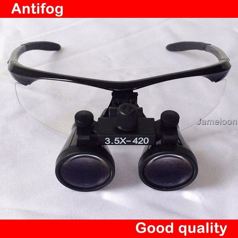 100% original 3.5X grossissement galiléen binoculaire médical loupe dentisterie chirurgicale dentaire Loupes
