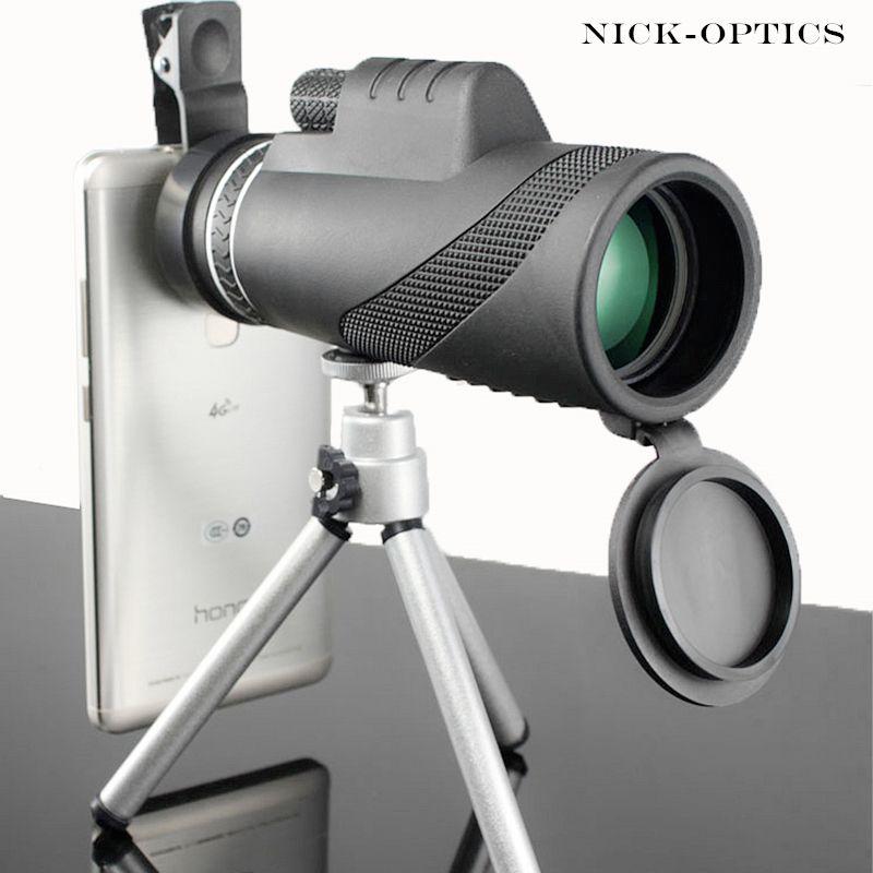 Monocular 40x60 Powerful Binoculars High Quality Zoom Great Handheld Telescope lll night vision Military HD Professional Hunting