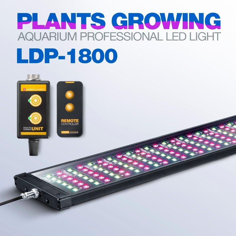 LICAH Süßwasser Aquarienpflanzen LED LICHT LDP-1800 Freies Shpping