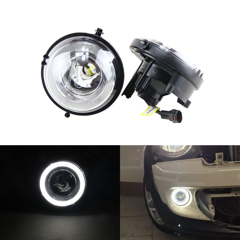 New E4 CE Led Daytime Running DRL Fog Light Halo Ring Kit For Mini Cooper R55 Clubman R60 Countryman R61 Paceman R57 R58 R56 F56