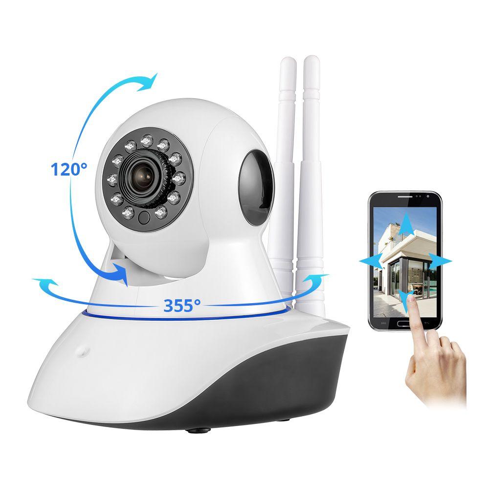 Caméra sans fil KERUI WiFi HD IP caméra d'alarme de sécurité à domicile GSM moniteur de Surveillance à distance de vision nocturne
